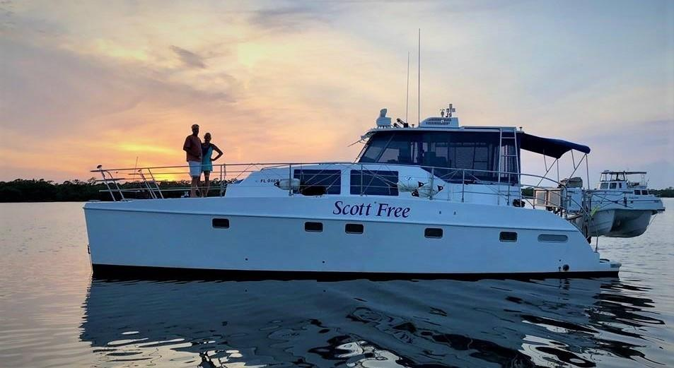 Used Power Catamaran for Sale 2003 Endeavour 44