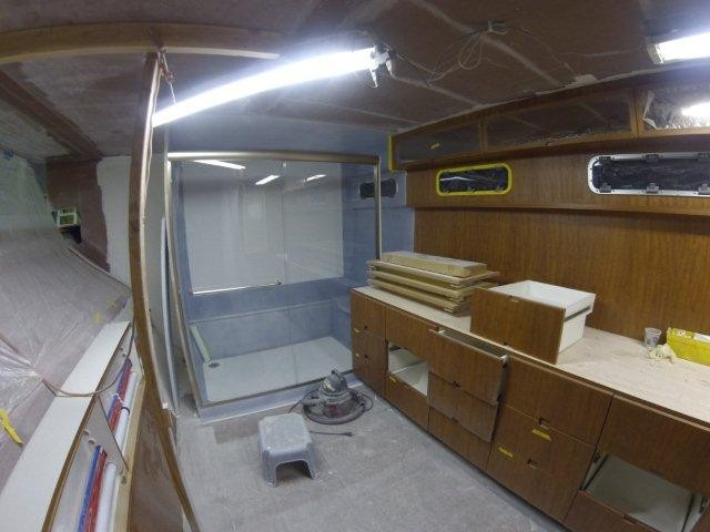New Sail Catamaran for Sale 2021 Bloomfield 86 Motorsailer Layout & Accommodations