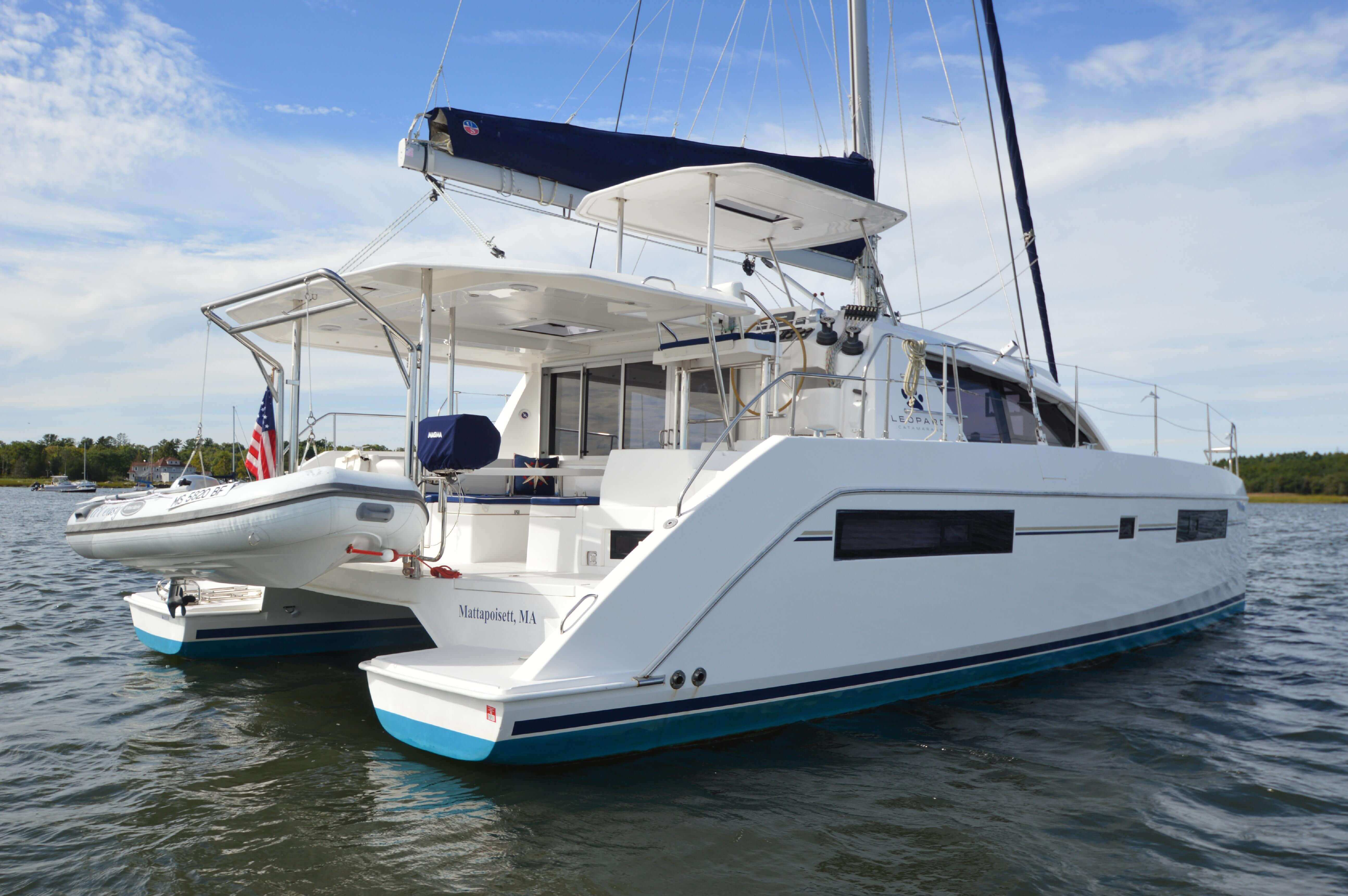 Used Sail Catamaran for Sale 2015 Leopard 40 Boat Highlights