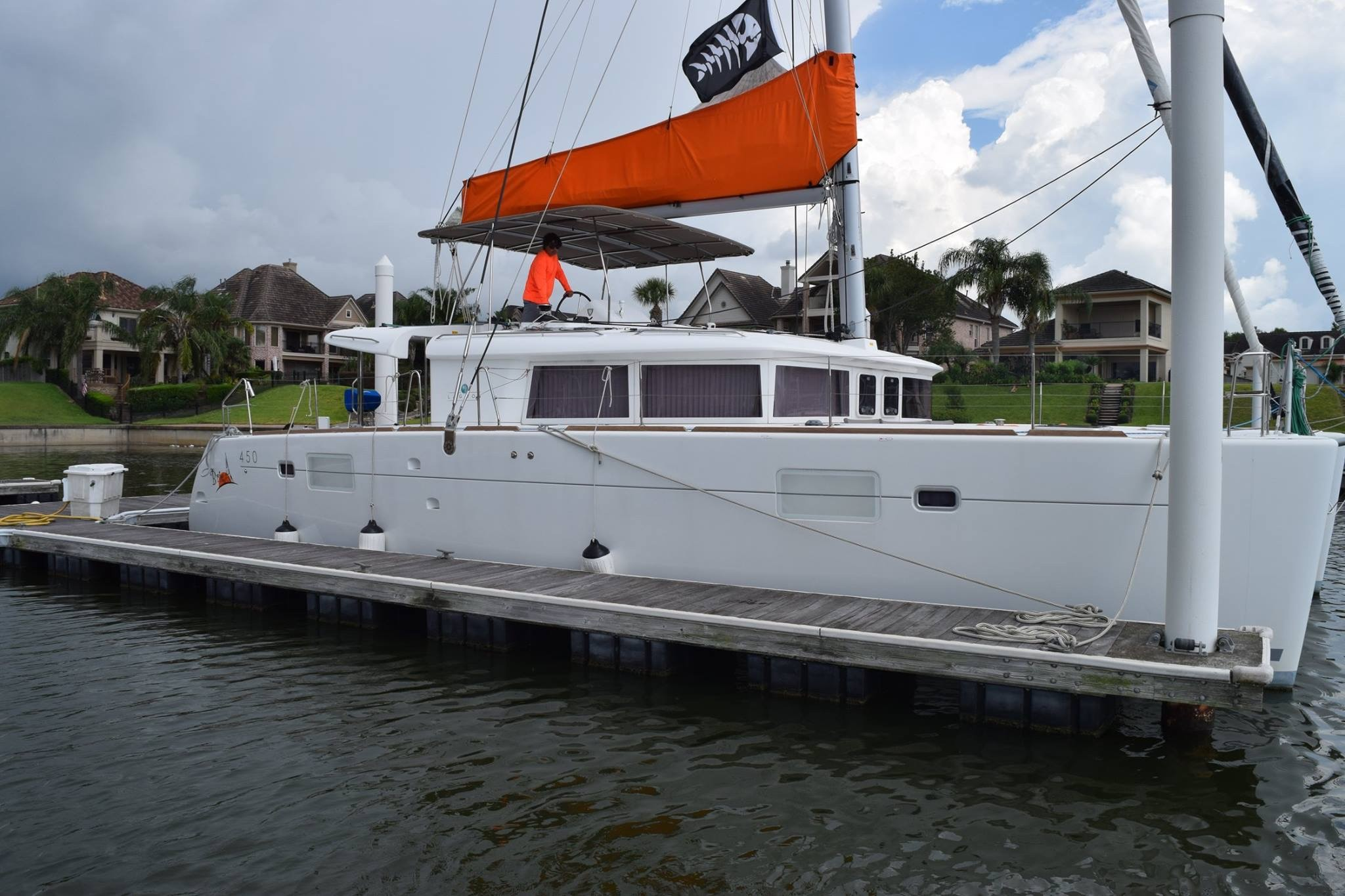 Used Sail Catamaran for Sale 2015 Lagoon 450 Boat Highlights