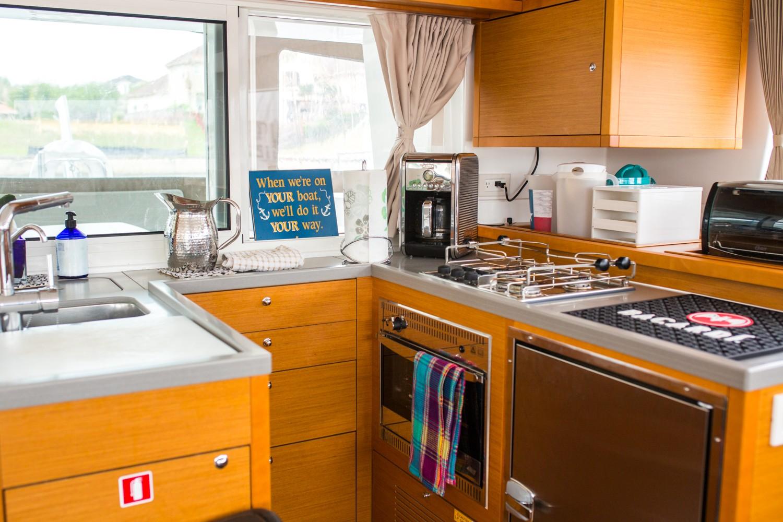 Used Sail Catamaran for Sale 2015 Lagoon 450 Galley