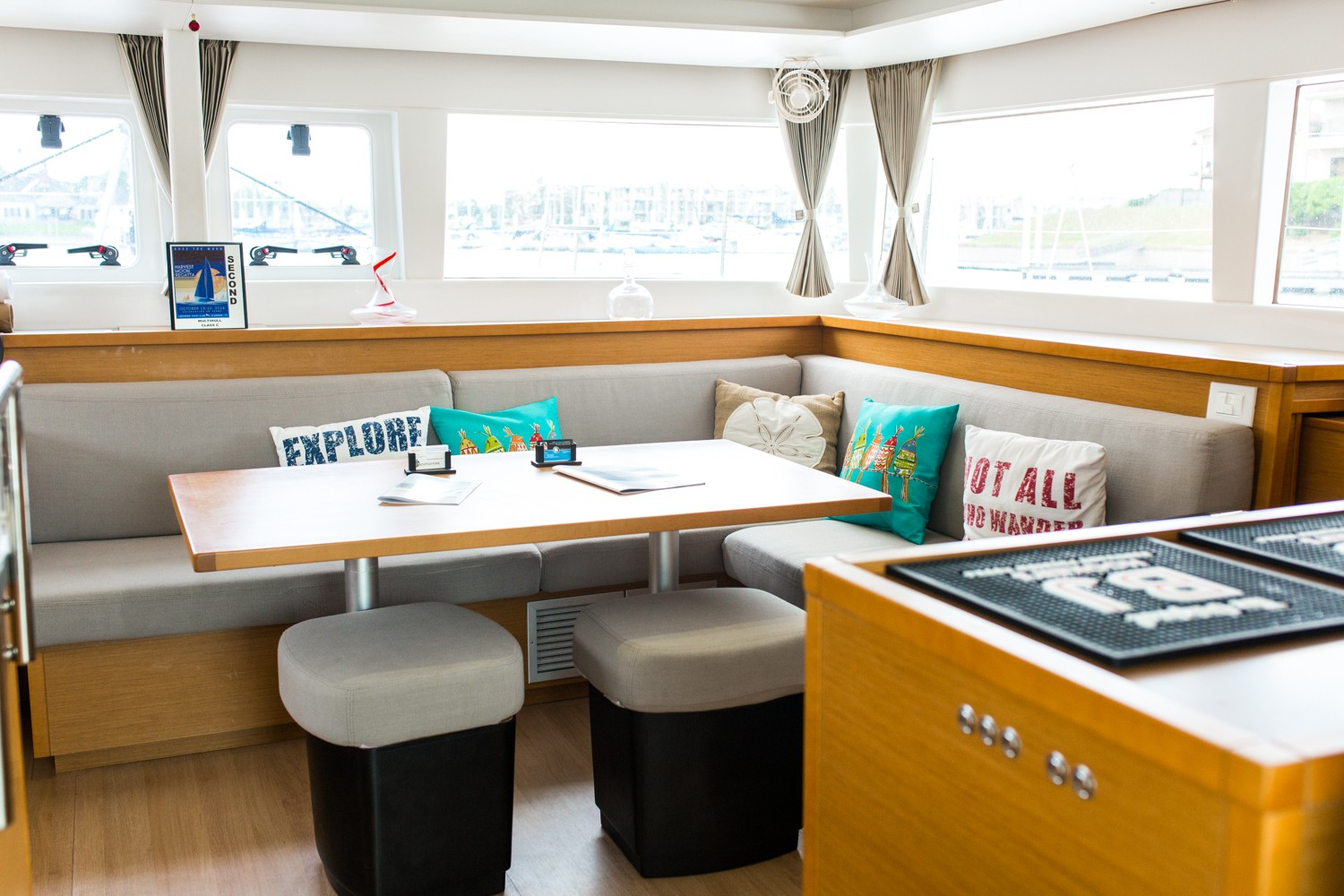 Used Sail Catamaran for Sale 2015 Lagoon 450 Layout & Accommodations