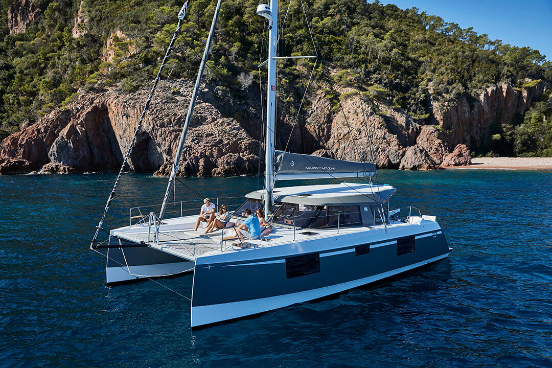 Used Sail Catamaran for Sale 2018 Nautitech 40 Open Boat Highlights