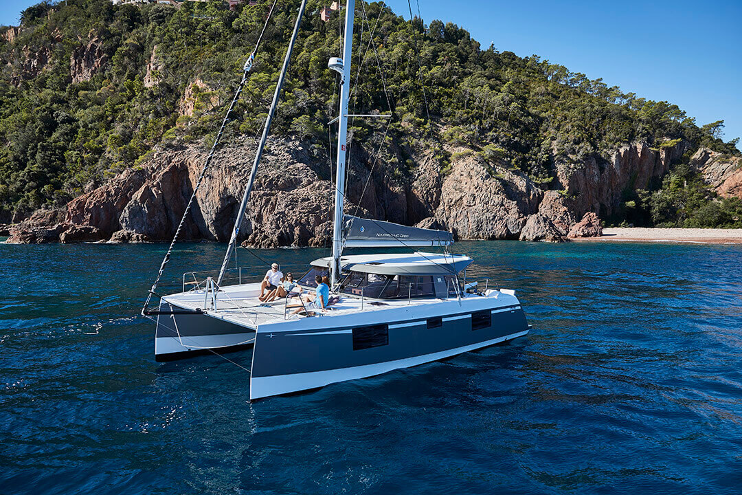 Used Sail Catamaran for Sale 2018 Nautitech 40 Open Sails & Rigging