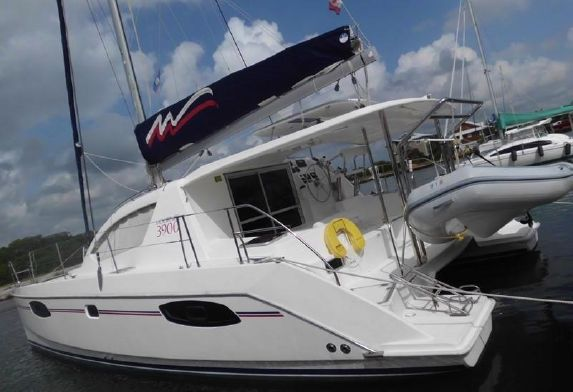 Used Sail Catamaran for Sale 2014 Leopard 39 Boat Highlights