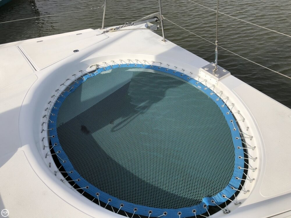 Used Sail Catamaran for Sale 1995 Renaissance 320XL Deck & Equipment