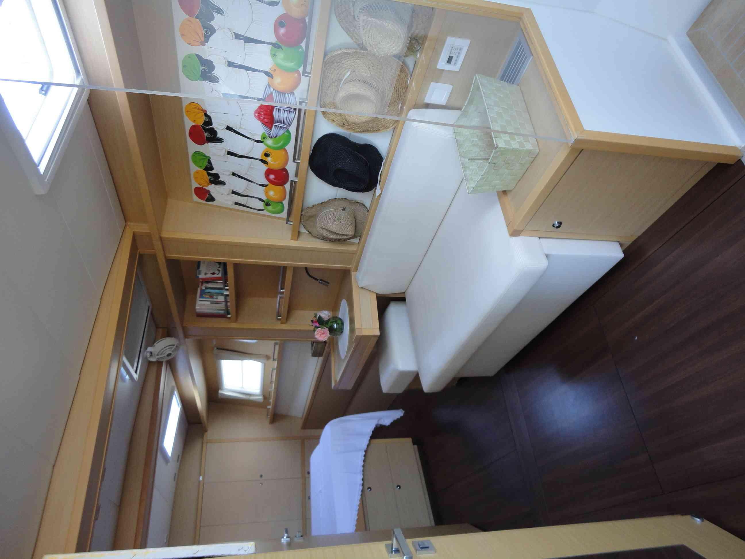 Used Sail Catamarans for Sale 2012 Lagoon 620  Layout & Accommodations