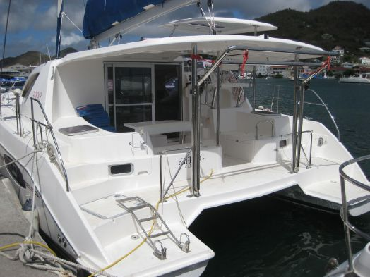 Used Sail Catamaran for Sale 2011 Leopard 39 Deck & Equipment