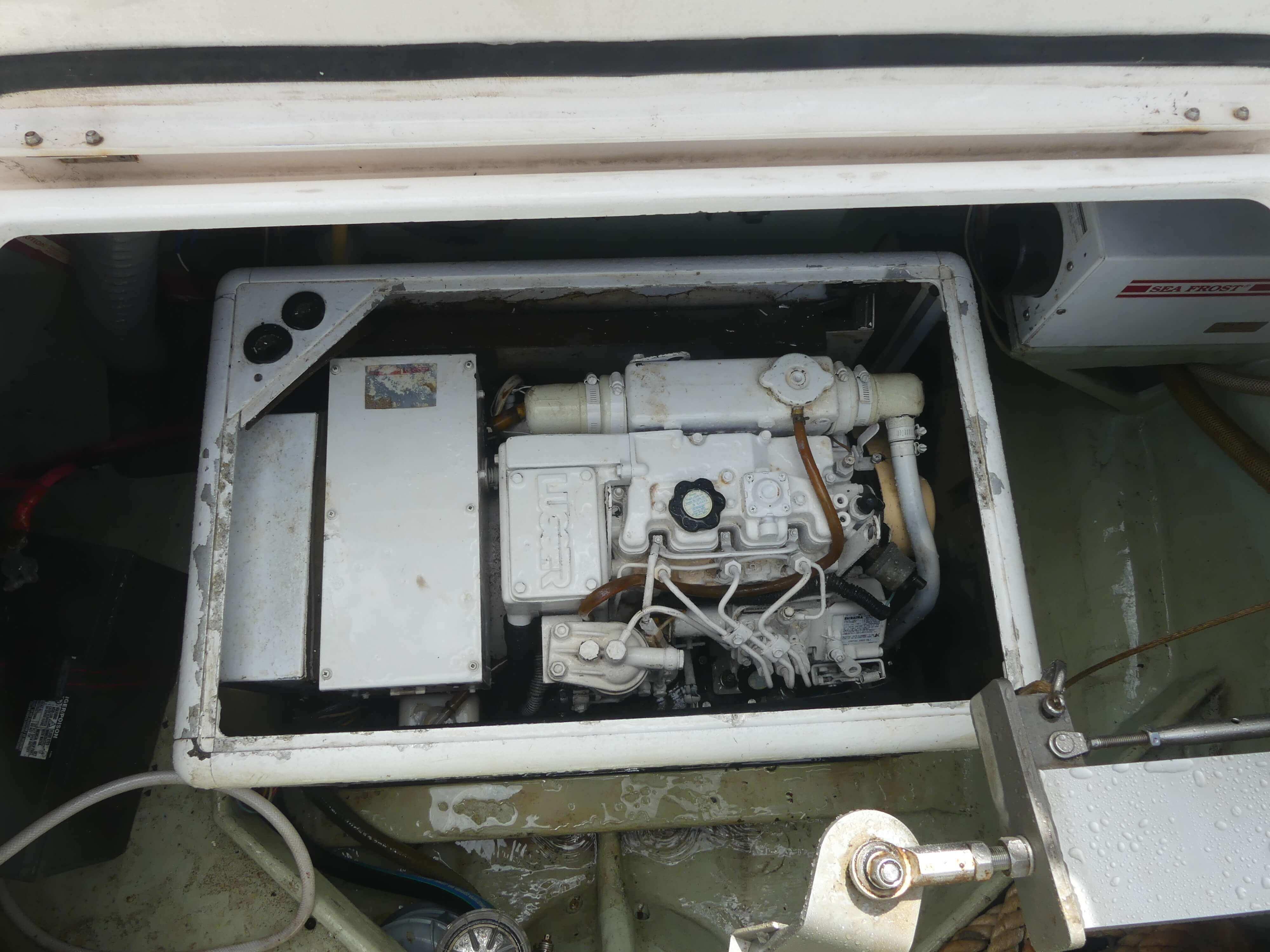Used Sail Catamarans for Sale 2006 Leopard 43  Engine & Mechanical