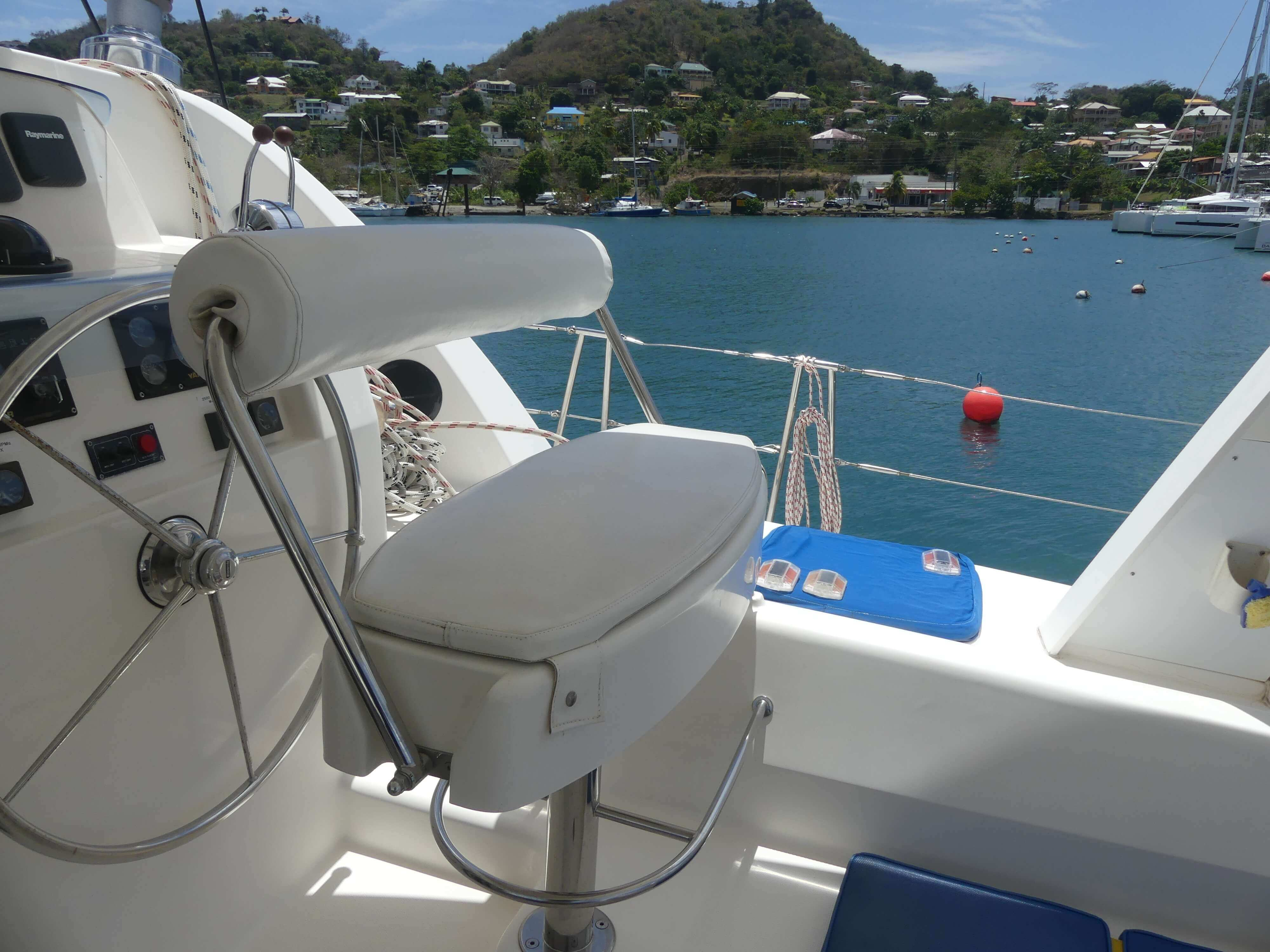 Used Sail Catamaran for Sale 2006 Leopard 43  Additional Information