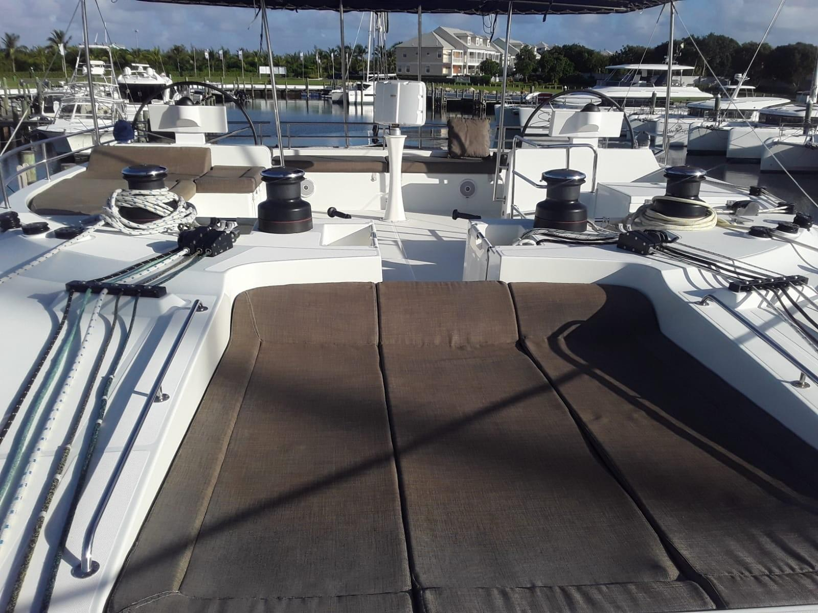 Used Sail Catamaran for Sale 2014 Lagoon 620  Deck & Equipment
