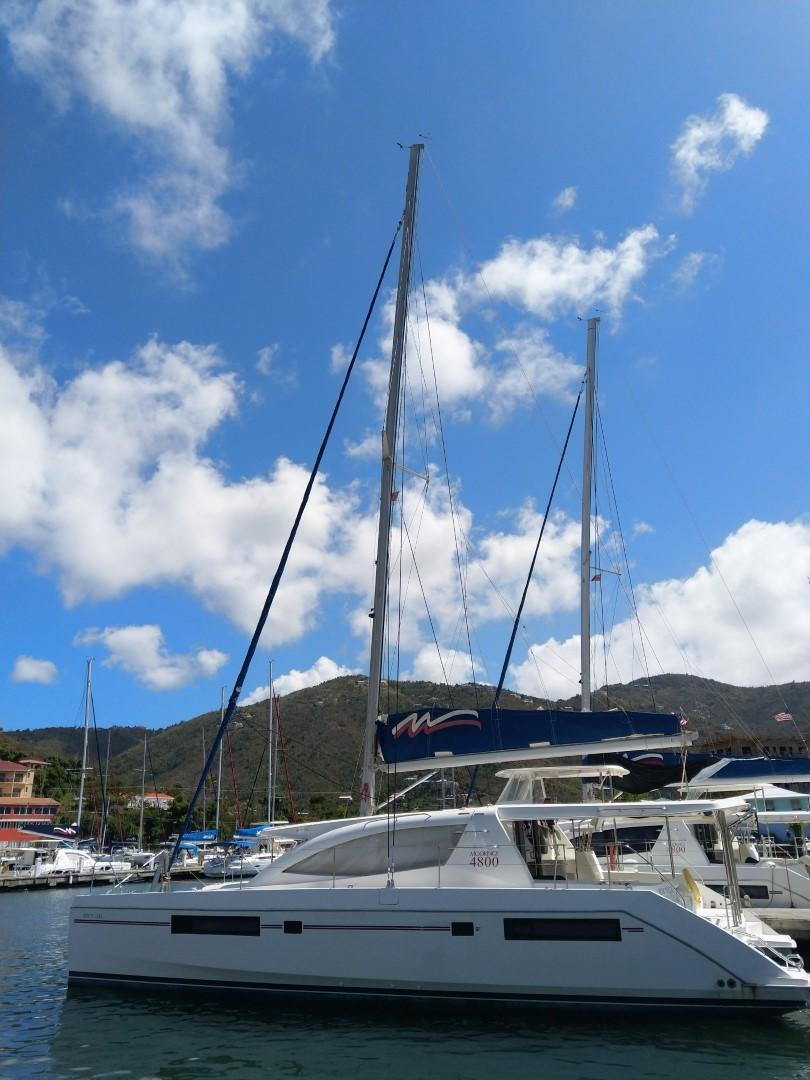 Used Sail Catamaran for Sale 2013 Leopard 48 Boat Highlights