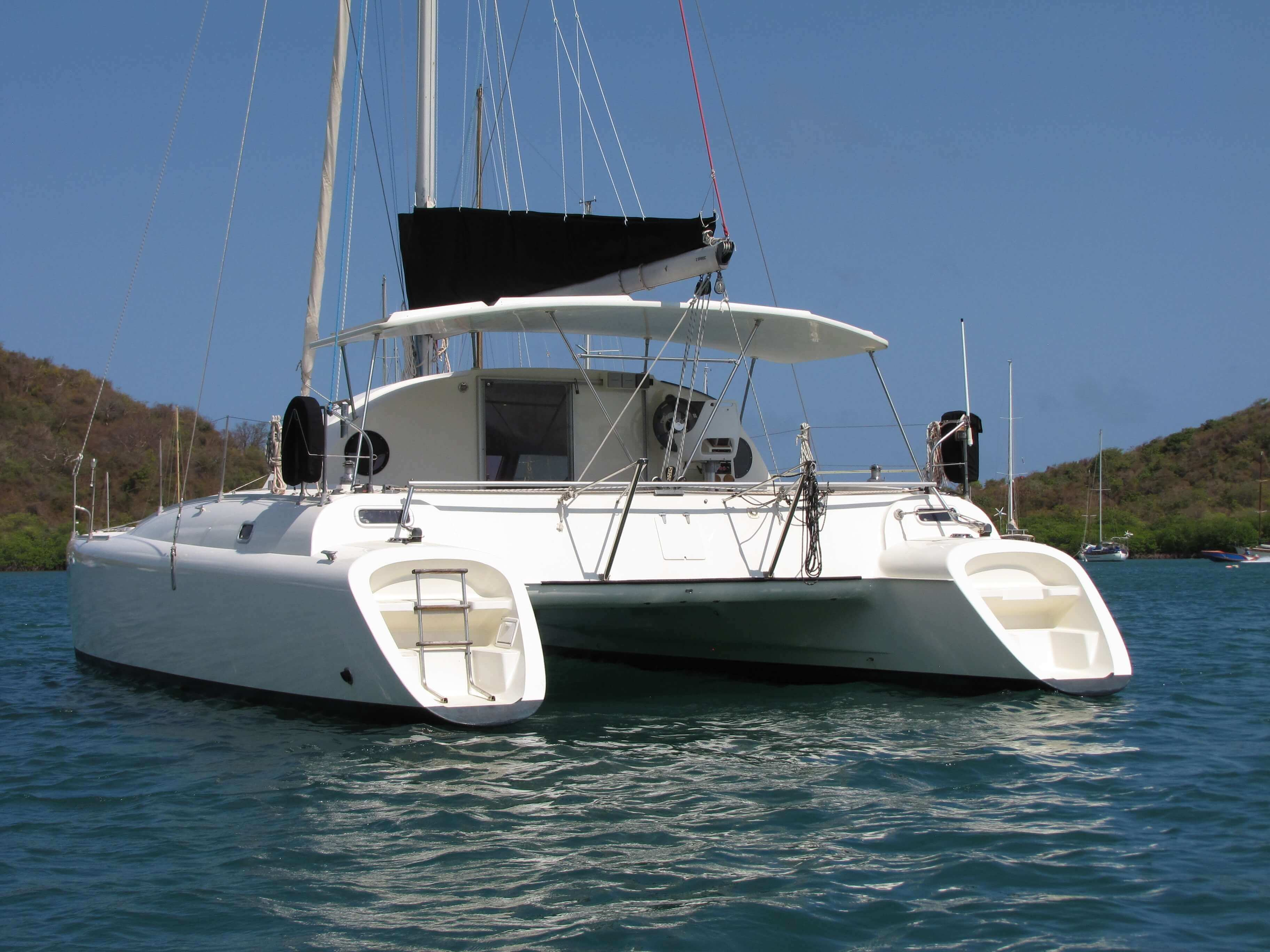 Used Sail Catamaran for Sale 1992 Antigua Maestro 37 Boat Highlights