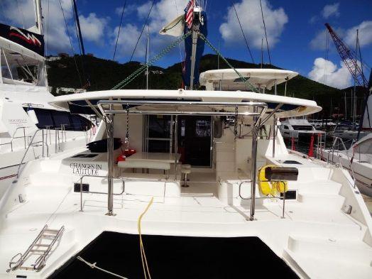 Used Sail Catamaran for Sale 2013 Leopard 48 Deck & Equipment