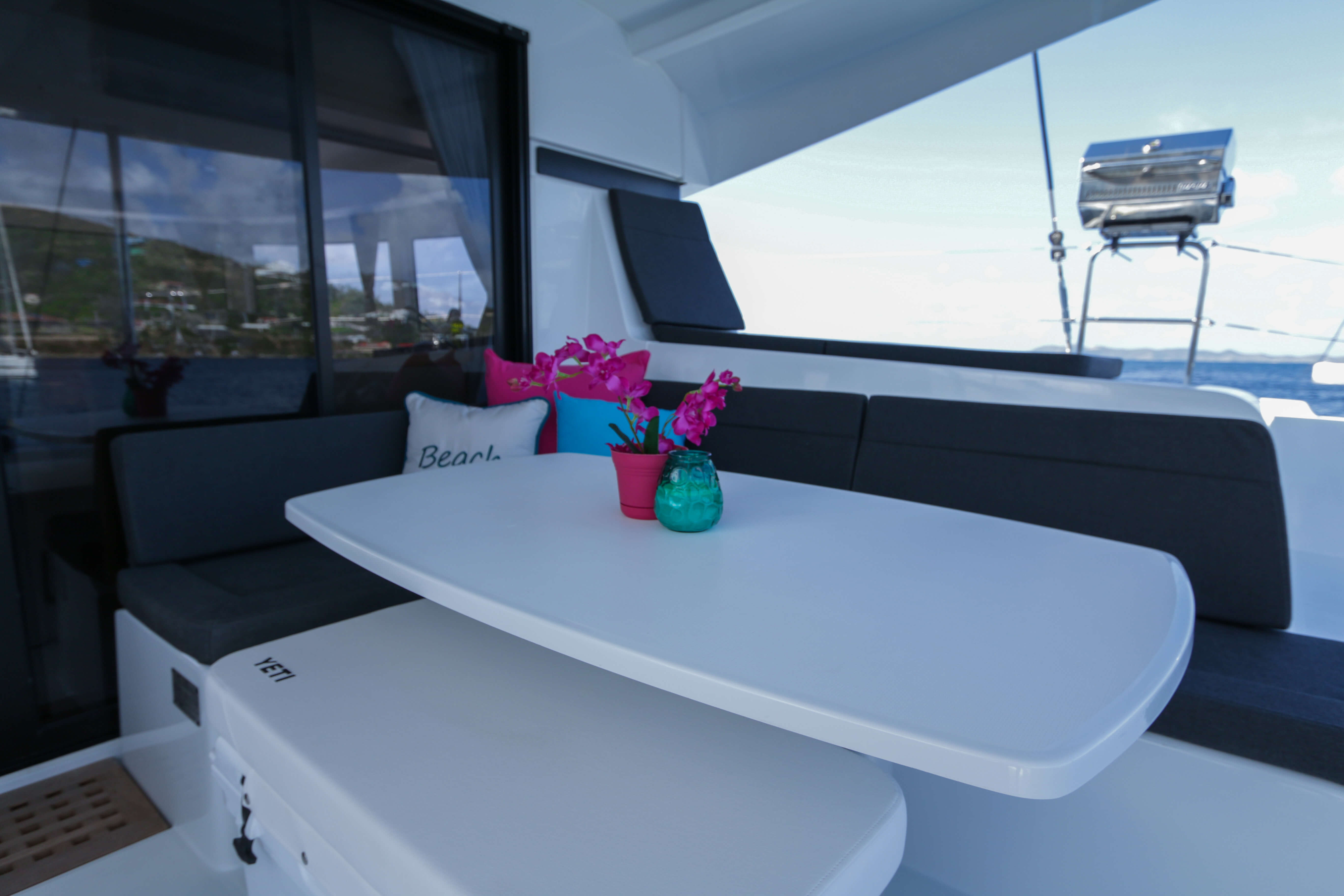 Used Sail Catamarans for Sale 2018 Lagoon 42 Layout & Accommodations