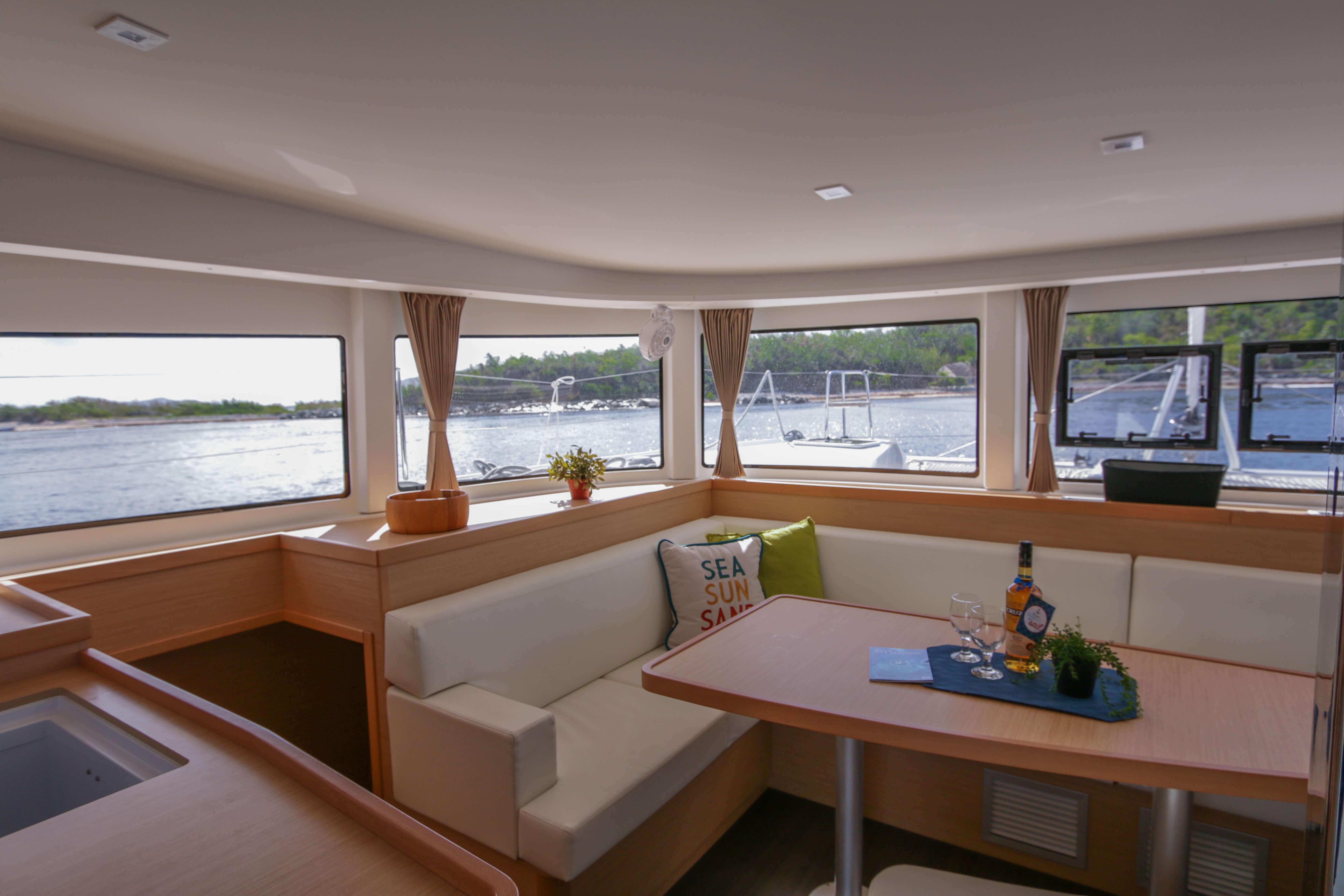 Used Sail Catamaran for Sale 2018 Lagoon 42 Layout & Accommodations