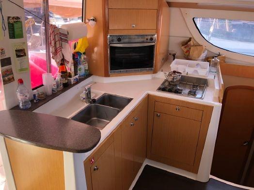 Used Sail Catamaran for Sale 2010 Lipari 41 Galley