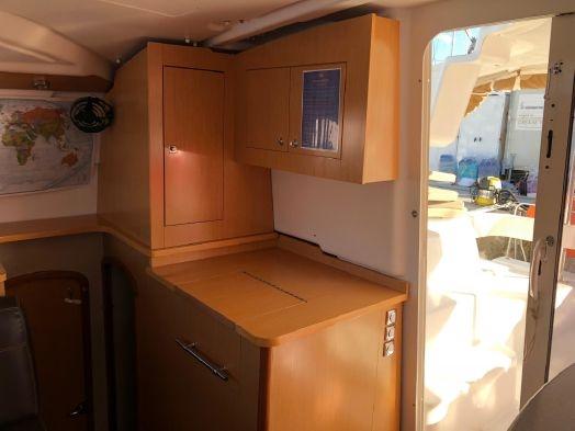 Used Sail Catamaran for Sale 2010 Lipari 41 Layout & Accommodations