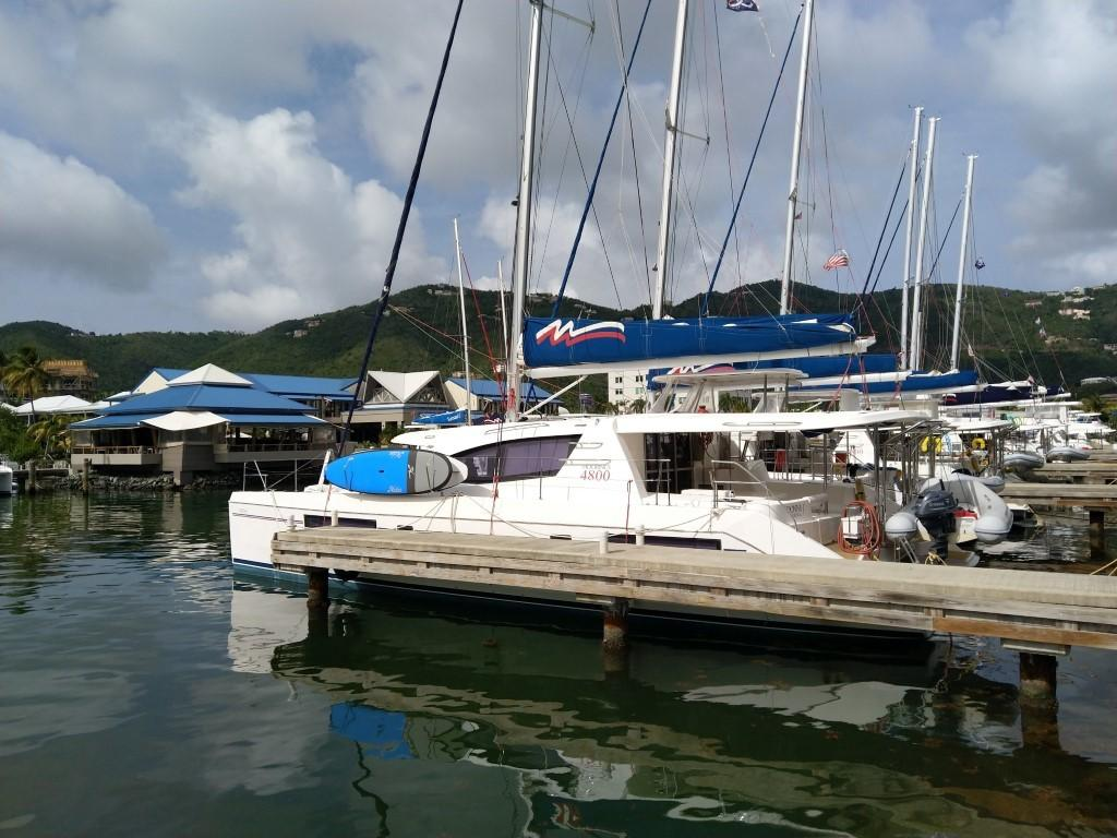 Used Sail Catamaran for Sale 2014 Leopard 48 Boat Highlights