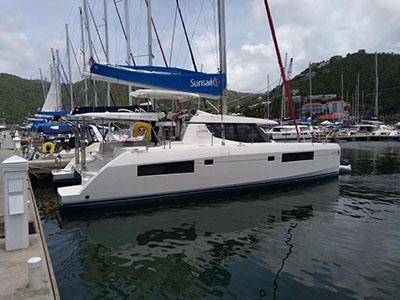 Used Sail Catamaran for Sale 2017 Leopard 45