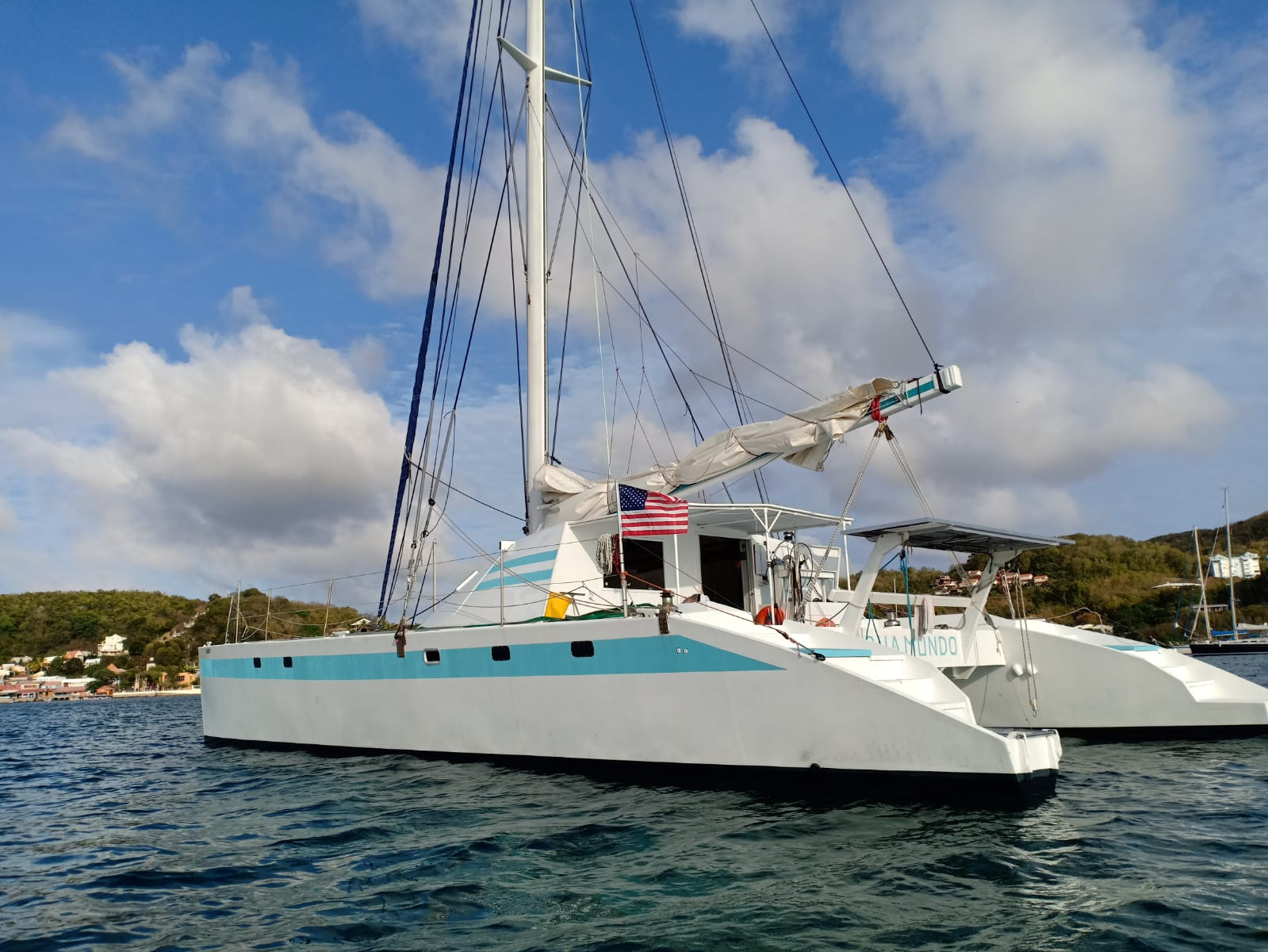 Used Sail Catamaran for Sale 2009 Sourisse Boat Highlights