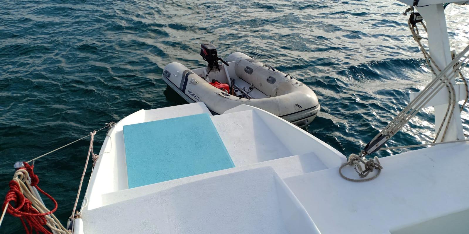 Used Sail Catamaran for Sale 2009 Sourisse Deck & Equipment