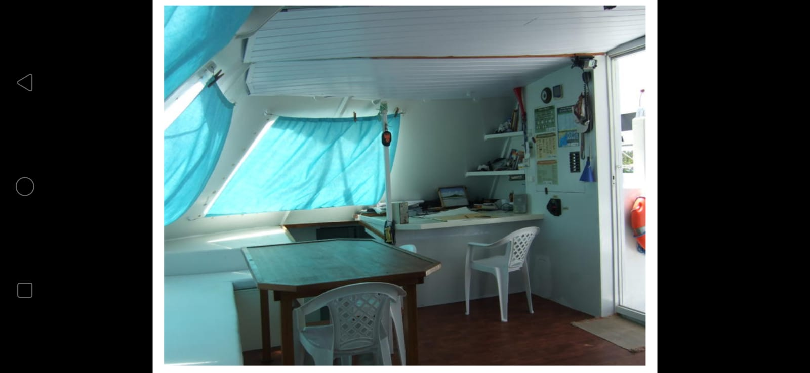 Used Sail Catamaran for Sale 2009 Sourisse Layout & Accommodations