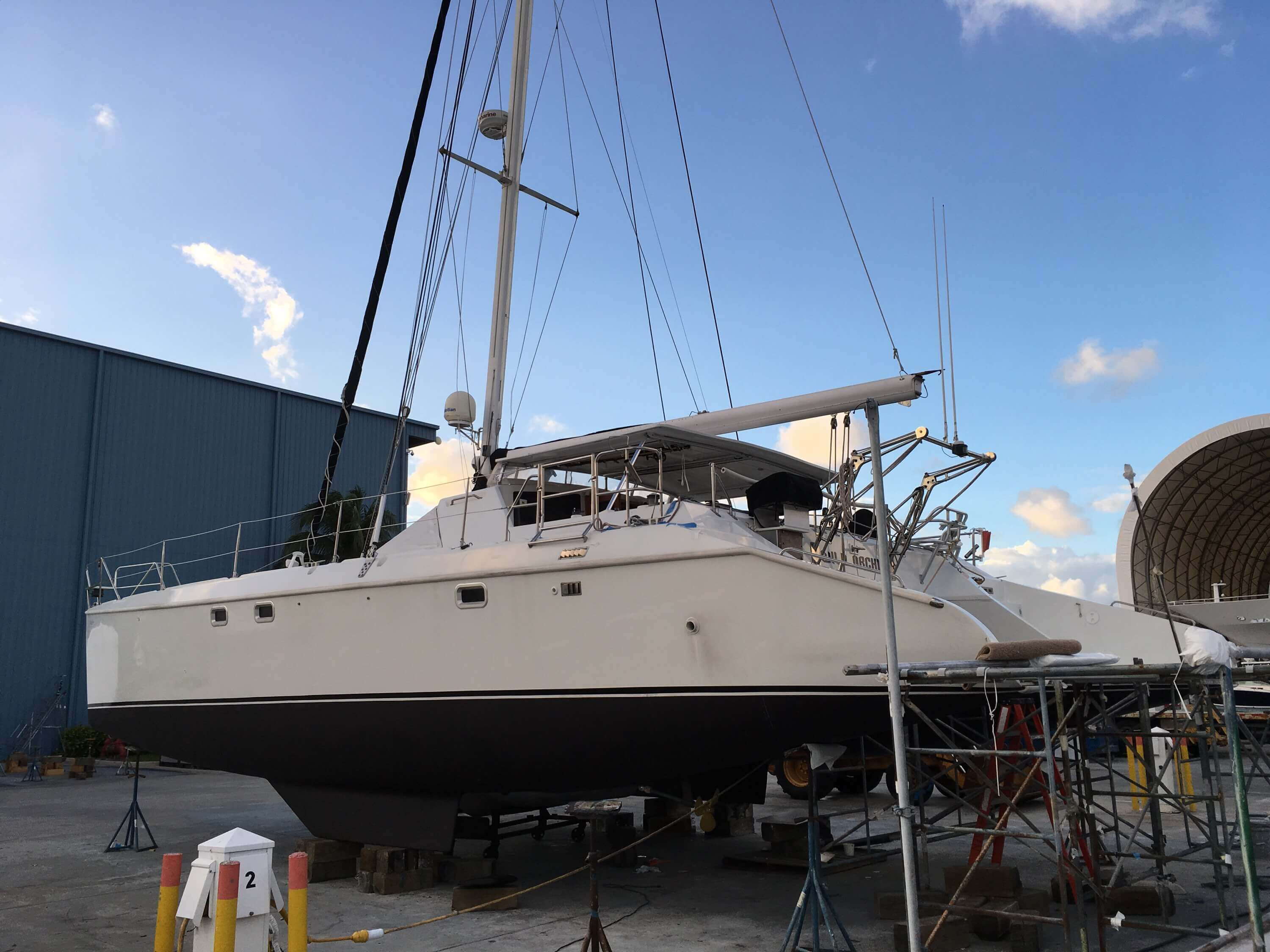 Used Sail Catamaran for Sale 1993 43 Additional Information