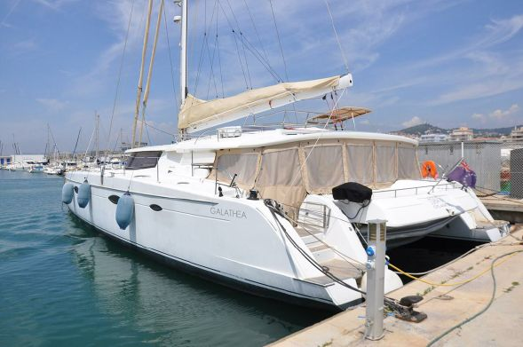 Used Sail Catamarans for Sale 2012 Galathea 65 Deck & Equipment