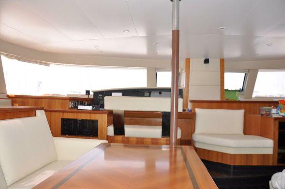Used Sail Catamaran for Sale 2012 Galathea 65 Layout & Accommodations