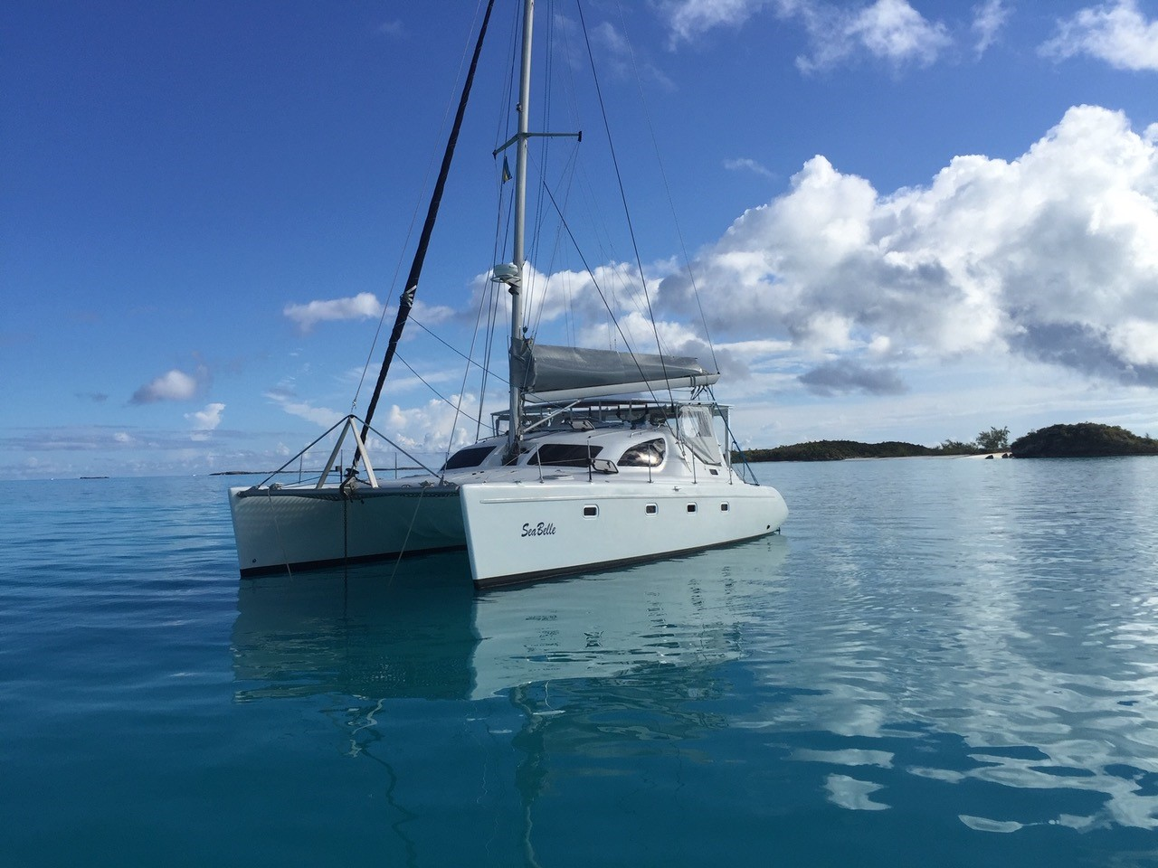 Used Sail Catamaran for Sale 2004 Maxim 380