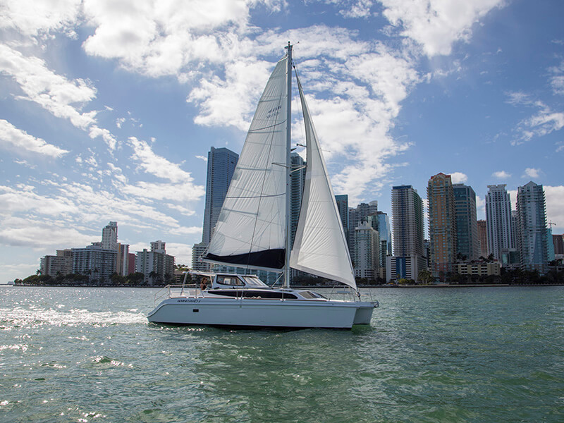 New Sail Catamaran for Sale 2019 Legacy 35x Sails & Rigging