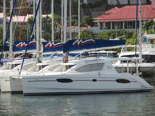 Used Sail Catamaran for Sale 2013 Leopard 39
