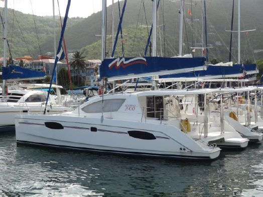 Used Sail Catamaran for Sale 2013 Leopard 39 Boat Highlights