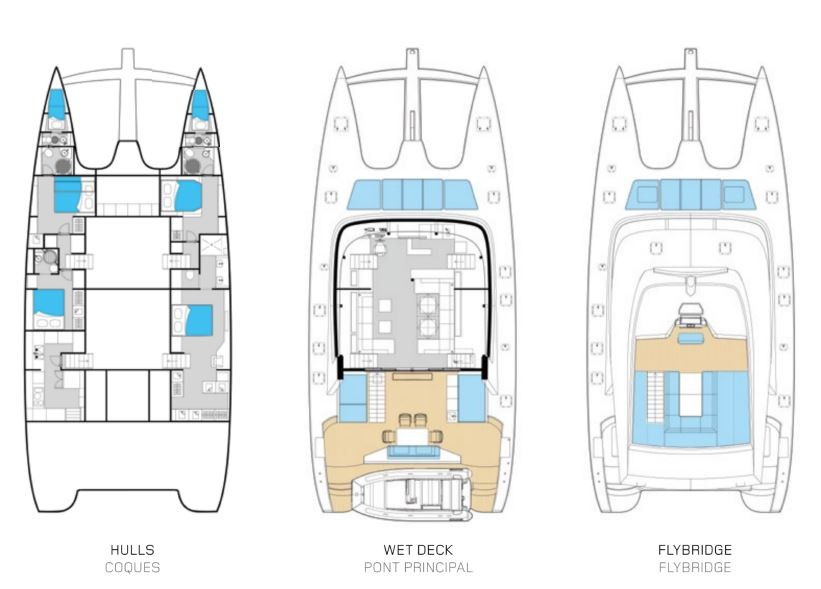 Used Sail Catamaran for Sale 2015 Sunreef 74 Additional Information
