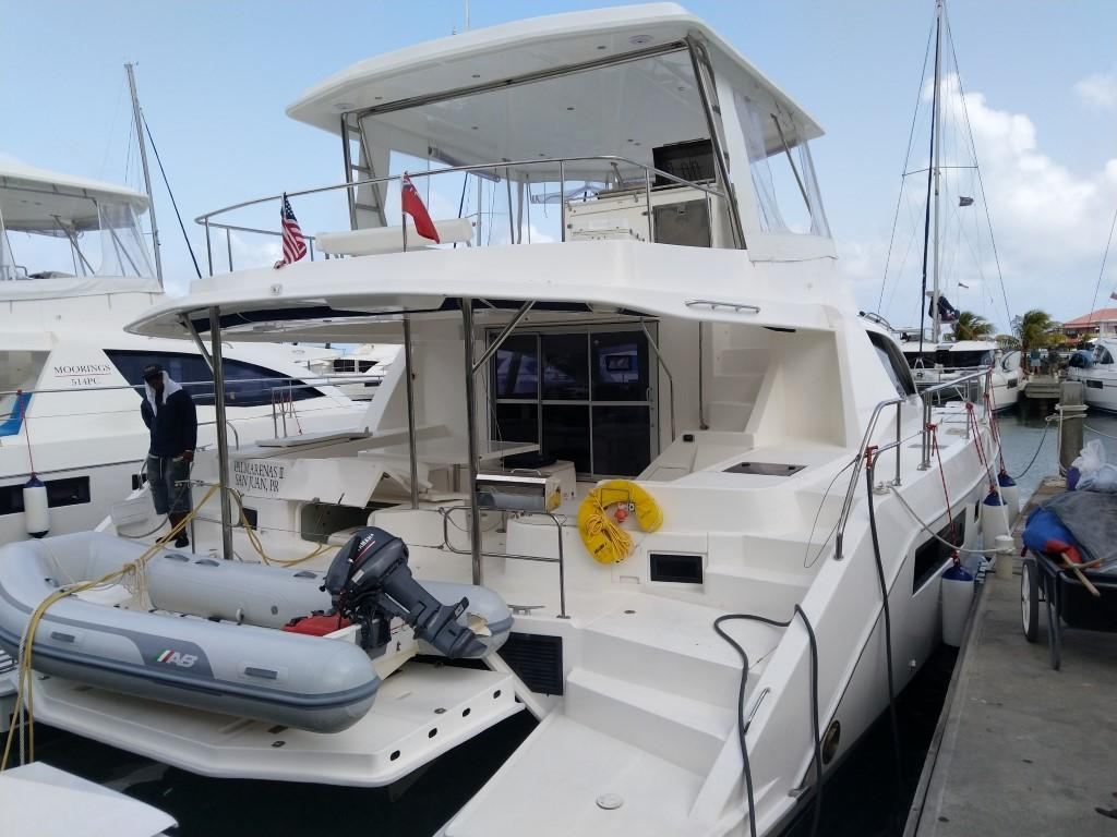 Used Power Catamaran for Sale 2014 Leopard 51PC Boat Highlights