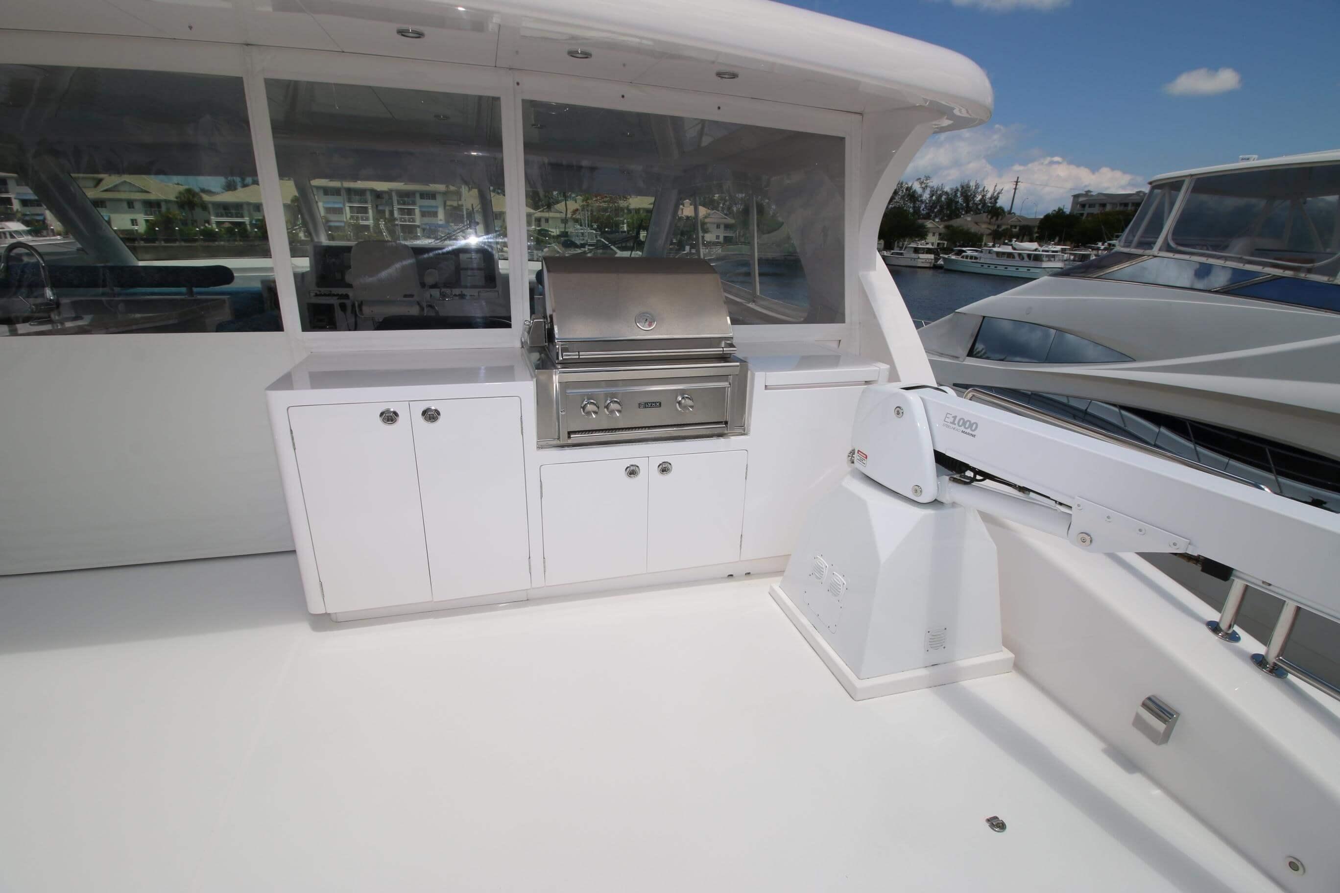 Used Power Catamaran for Sale 2018 PC60 Deck & Equipment