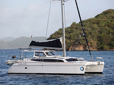 Used Sail Catamarans for Sale 2016 Legacy 35