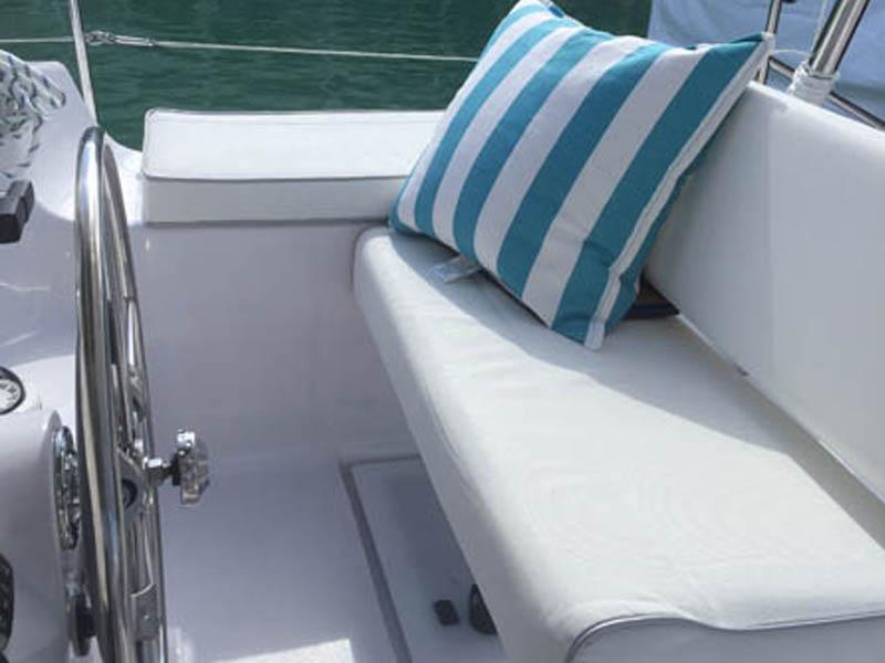 Used Sail Catamaran for Sale 2016 Legacy 35 Deck & Equipment