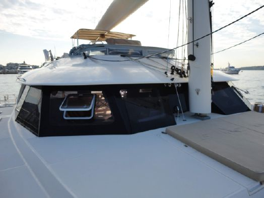 Used Sail Catamaran for Sale 2009 Sunreef 70 Deck & Equipment