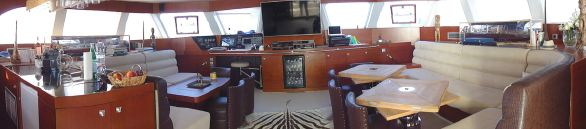 Used Sail Catamaran for Sale 2009 Sunreef 70 Layout & Accommodations