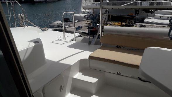 Used Sail Catamarans for Sale 2012 Mahe 36 Deck & Equipment
