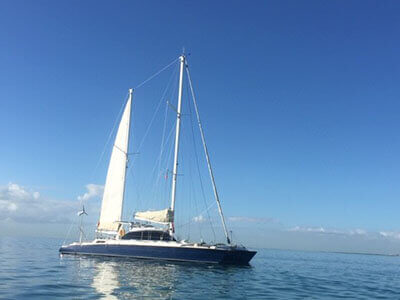 Used Sail Catamaran for Sale 1979 Custom 49
