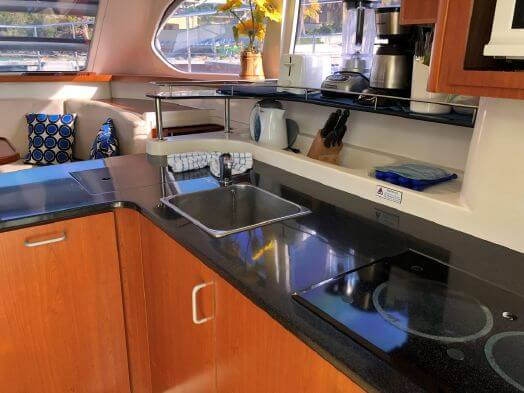 Used Power Catamaran for Sale 2013 Aquila 38 Galley