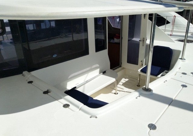 Used Sail Catamaran for Sale 2014 Leopard 44 Deck & Equipment
