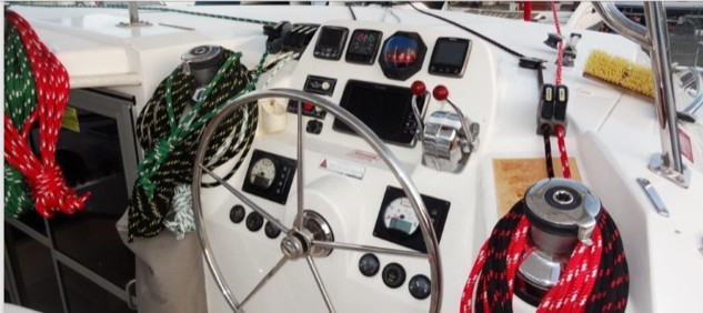 Used Sail Catamaran for Sale 2014 Leopard 44 Electronics & Navigation