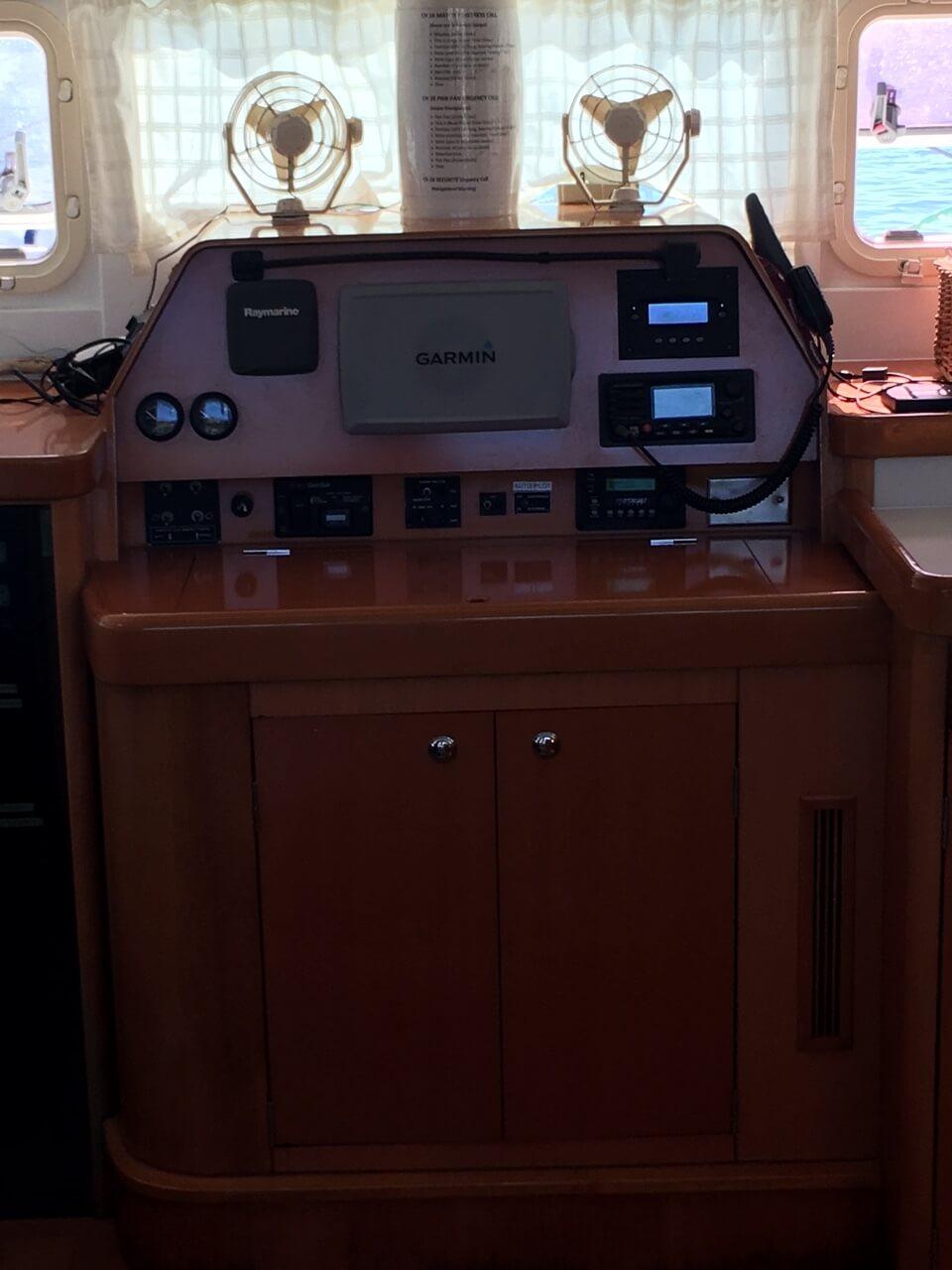 Used Sail Catamaran for Sale 2005 Lagoon 470 Electronics & Navigation