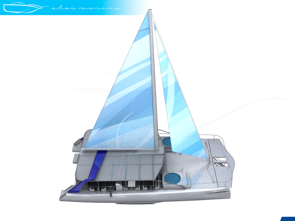 New Sail Catamaran for Sale  Positano 75
