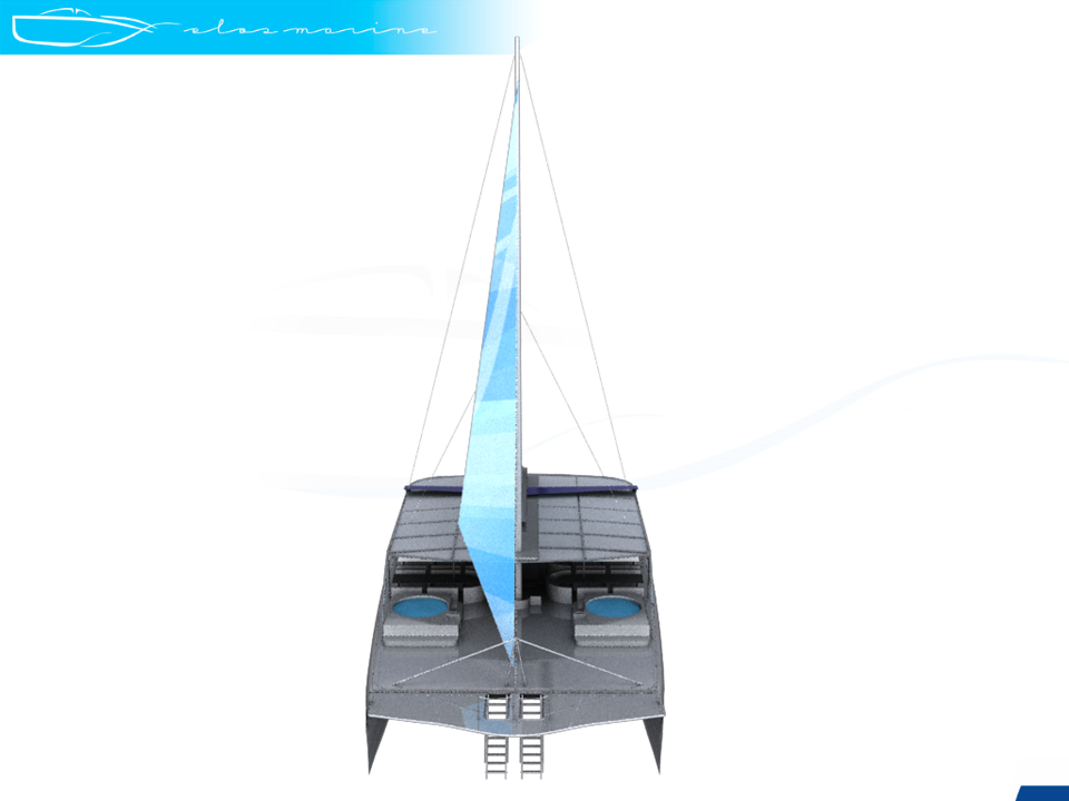 New Sail Catamaran for Sale  Positano 75 Boat Highlights