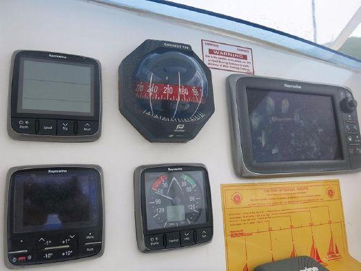 Used Sail Catamaran for Sale 2014 Leopard 39 Electronics & Navigation